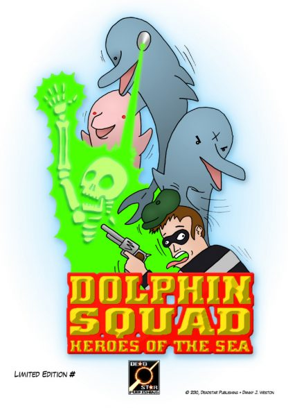 Dolphin Squad Limited Edition Print A4