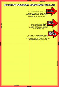 Deadstar Publishing's Comic Template