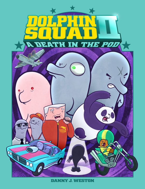 Dolphin Squad: A Death in the Pod cover