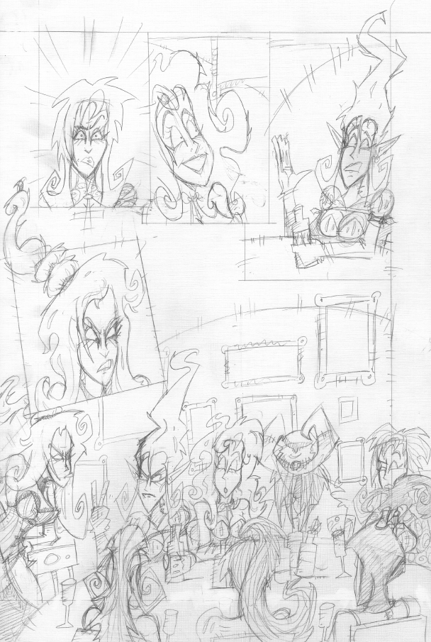 Pencils from Hell's Belles page 15