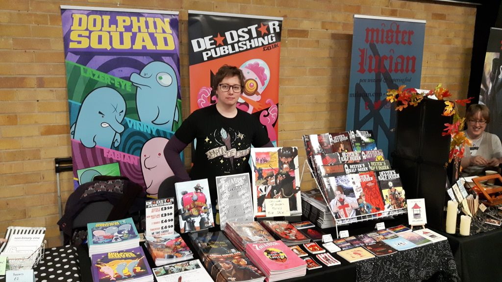 Laurie Raye at Thought Bubble 2019