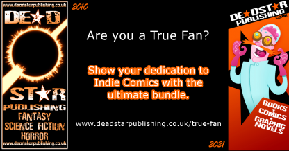 Are you a True Fan? Show your dedication to Indie Comics with the ultimate bundle.